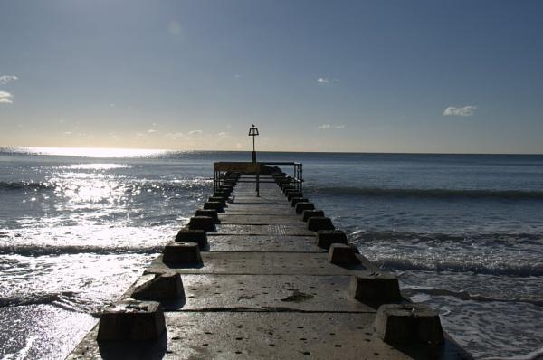 Bournemouth Groyne by MaoZhu