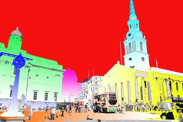 Trafalgur Square by mohanramyaa