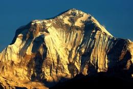 Mount Dhaulagiri up close, Nepal