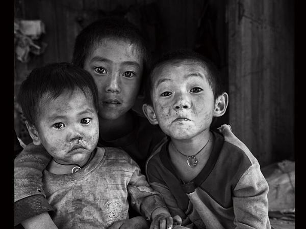 Village boys by Nick_Hilton