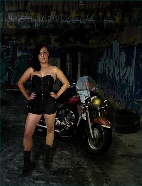 Biker Chick by retec