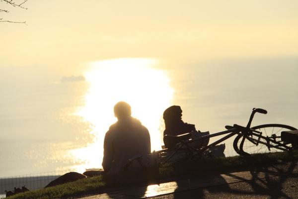 Watching the Sunset by guitarman74uk