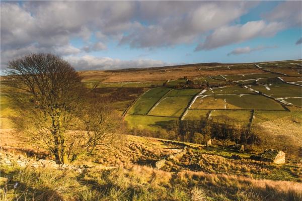 Deserted  Pennine Farm 2 by phil99
