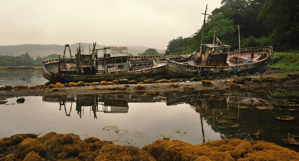 Old Fishing Boats , Mull by phil99