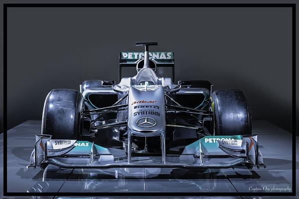Petronas Mercedes by ENGLISHSKIN