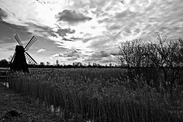 The Windpump at Wicken Fen by rambler