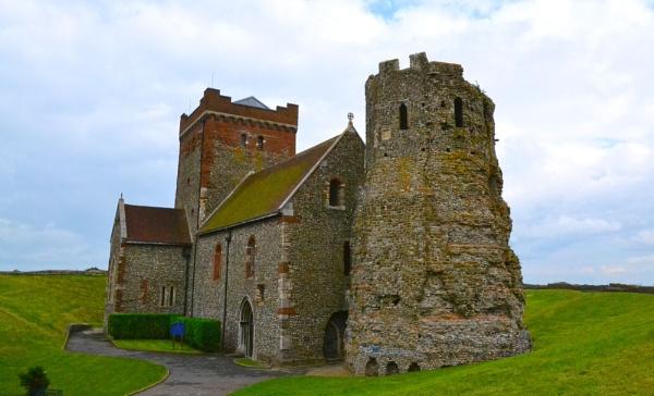 Dover castle church by probie