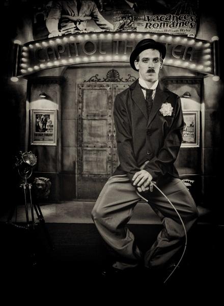 Peter as Chaplin by rick9449