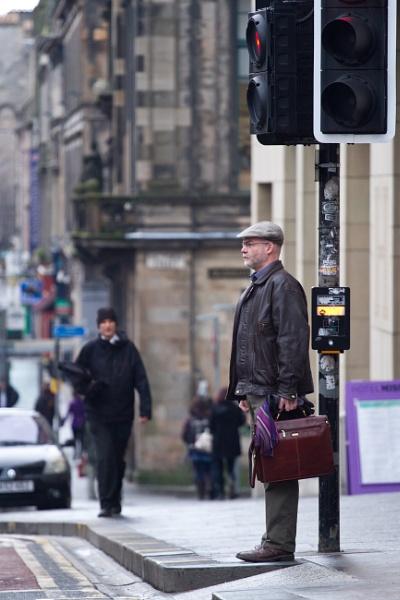 Edinburgh, streets by RazvanD