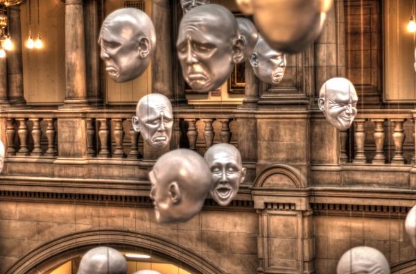 Floating heads by sadmurph