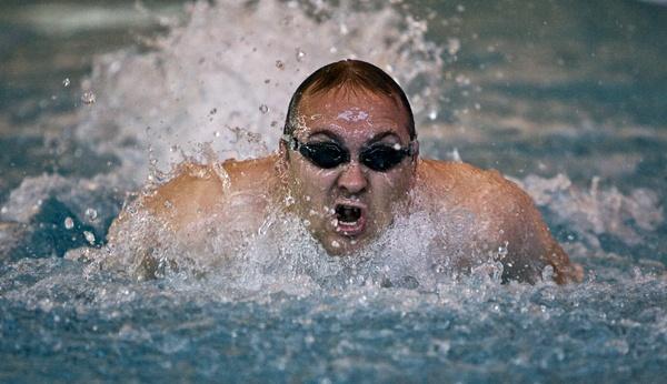 Breast Stroke Swimmer by rogerdoger