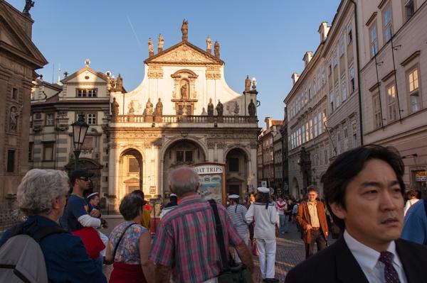 Golden Prague by krasitsky