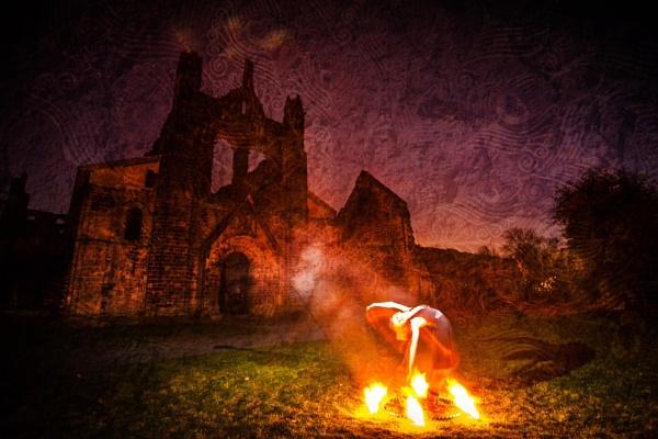 Dancing at Kirkstall Abbey by ade_mcfade