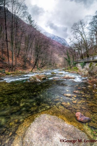 River Cerna , Herculane by Giorgie0
