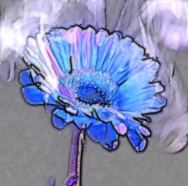 smoking flower 2 by hi14ry