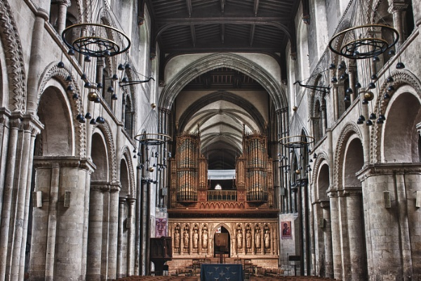Rochester Cathedral by pablo69