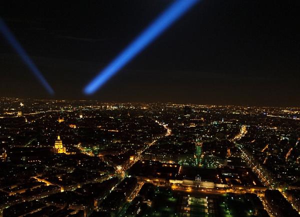Paris Skyline by AJG