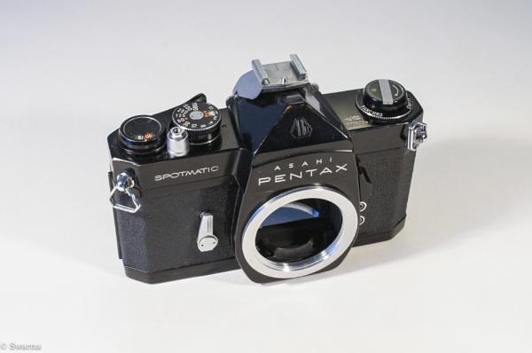 Asahi Pentax Spotmatic (Black) by Swarnadip