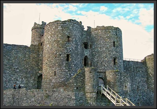 Harlech/ Conway Castles by Jocelia