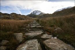 Footpath To Cwm Idwal.
