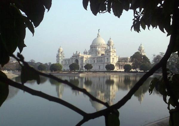 Monument between leaves by Dibyajit
