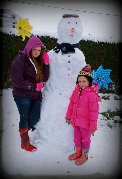 #2nd Snowman by megan99