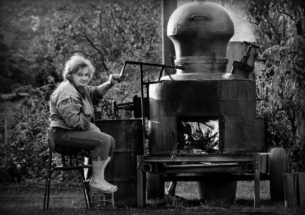 Alcohol distillation by GoranStamenkovic