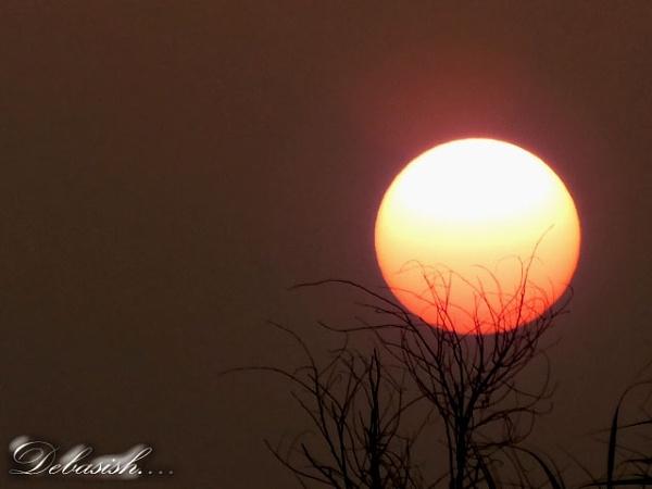 SUNSET.... by DEBASISH