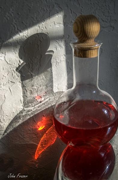 Red Flask in Sunshine by John_Fraser