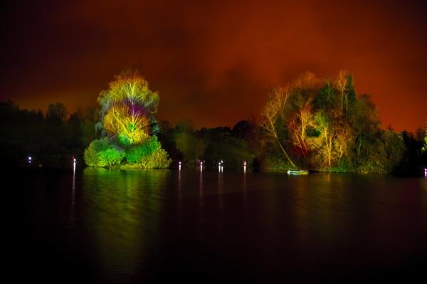Rouken Glen Park Electric Light Show by WalidD300
