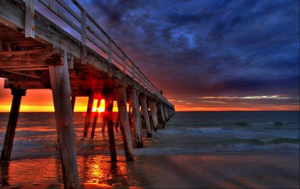 Grange Beach by robst