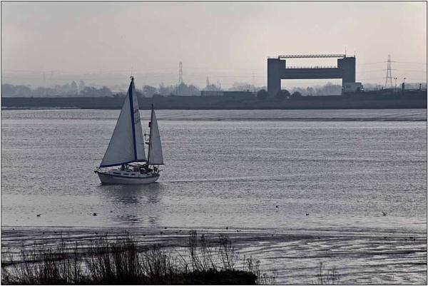 Thames at Rainham by SlowSong