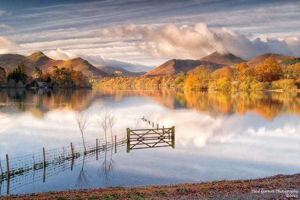 Derwentwater Reflection by Paul1