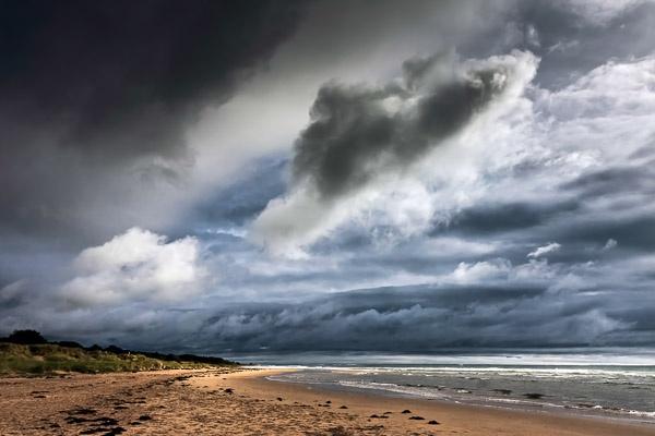 Storm racing across Alnmouth estuary by Phil_Bird