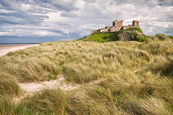 - Bamburgh Castle - by bart_hoga