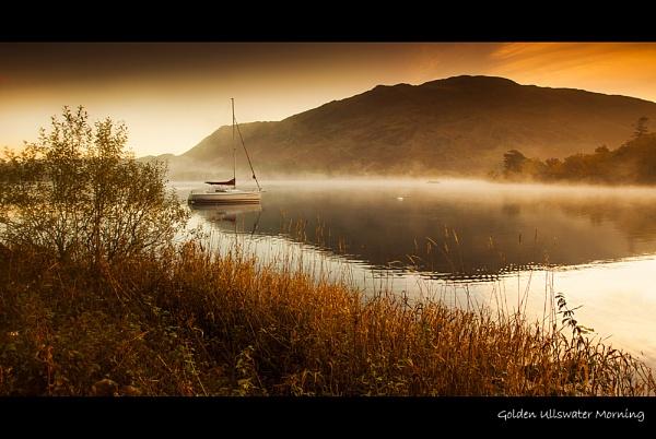 Golden Ullswater Morning by stevie