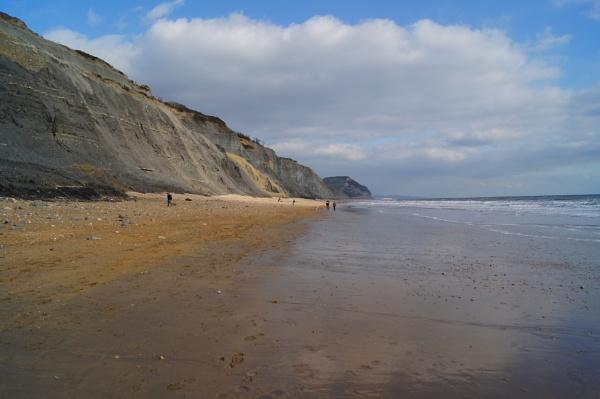 charmouth beach by christinecilia