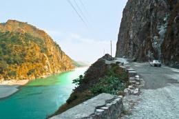 Chenab river ...
