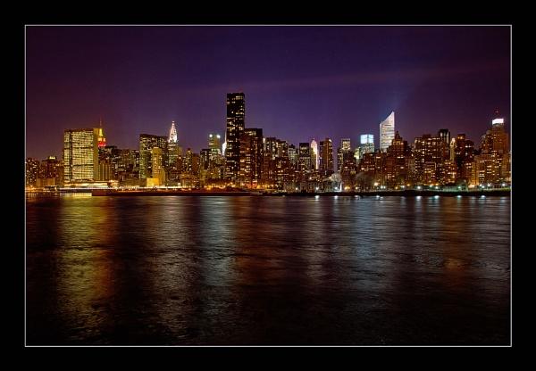 Manhattan Skyline by ColouredImages