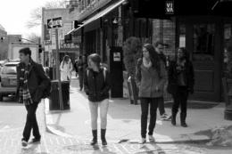 ~ Bustling Streetscene (B&W)