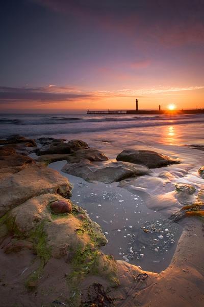 A Whitby dawn by oll1e