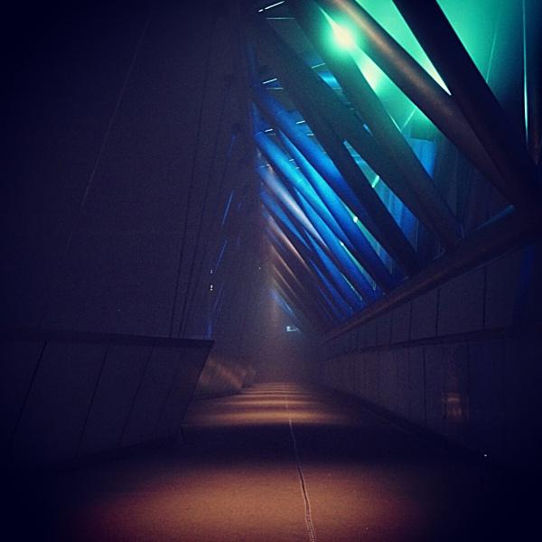Foggy bridge by olesyak