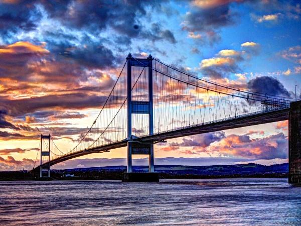 Old Severn Bridge HDR