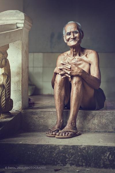 Old Happy Man by d3looo