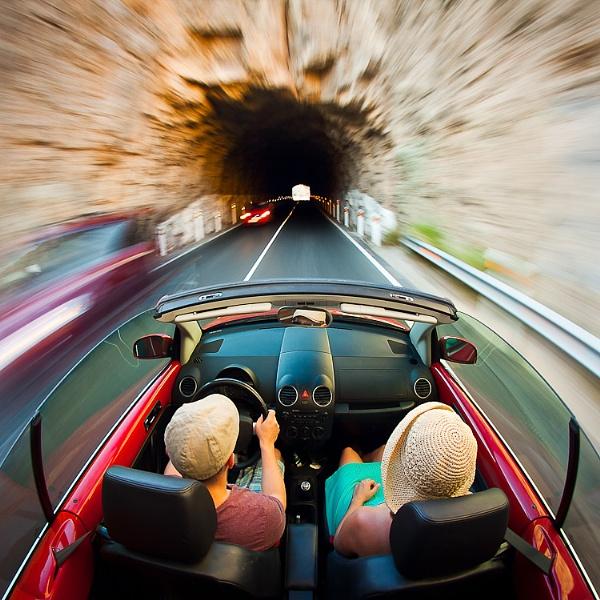 Through The Tunnel by karolkaczmarczyk
