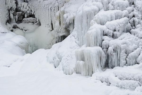 Frozen Water Falls by 1nikongirl