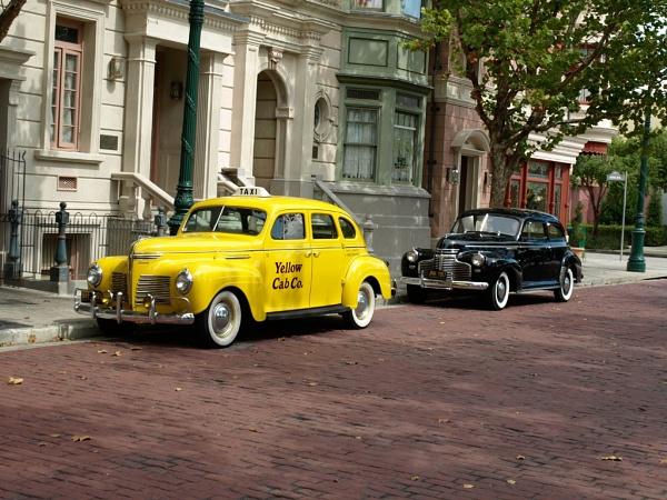 Street scene-Universal Studios by JohnAStevens