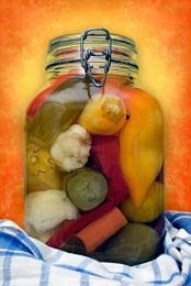 Vegetables In Jar