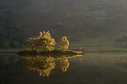 Isle on Crummock water