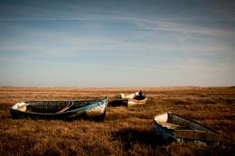 Boats near Brancaster, North Norfolk